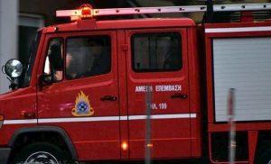 Φωτιά σε διαμέρισμα στην Πάτρα – Απεγκλωβίστηκε ένα άτομο