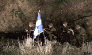 Αναπαράσταση της μάχης στο Καλπάκι