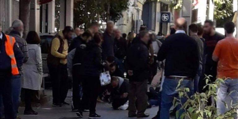 Άγρια συμπλοκή στην οδό Πλαστήρα στο Μαρούσι – Τραυματίστηκε νεαρός