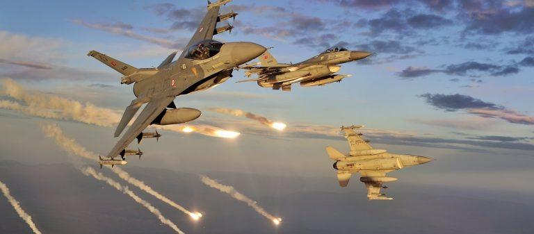 Τουρκική φρενίτιδα στο Αιγαίο: 3 πτήσεις μαχητικών επάνω από ελληνικό έδαφος, 5 αερομαχίες & 56 παραβιάσεις του ΕΕΧ
