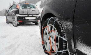 Χιονίζει στην Κεντρική Μακεδονία -Δείτε πού είναι απαραίτητες οι αντιολισθητικές αλυσίδες