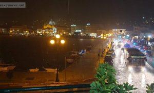 Σοβαρές ζημιές από την ισχυρή βροχόπτωση στην Λέσβο