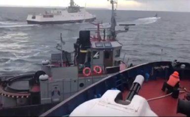 Θρίλερ στην Κριμαία! Πυρ κατά ουκρανικών σκαφών άνοιξε το Ρωσικό ναυτικό!