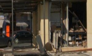 Παιανία: Ισοπεδώθηκε κατάστημα από έκρηξη σε ATM! video, pics