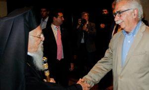 Στο Φανάρι ο Γαβρόγλου – Δίνει εξηγήσεις στον Πατριάρχη για τη συμφωνία Τσίπρα – Ιερώνυμου