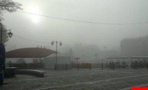 Τρίπολη: Τοπίο στην ομίχλη (vid)