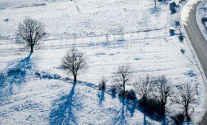 Αστεροσκοπείο: Το χιόνι που έπεσε τα Χριστούγεννα κάλυψε το 8% της χώρας [χάρτης]
