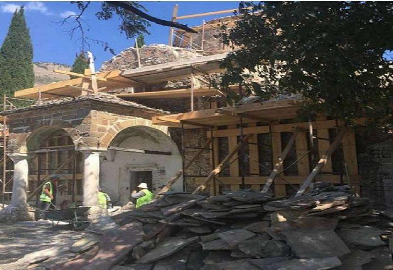 Έτοιμος ο ιστορικός ναός της Παναγίας στην Επισκοπή Β. Ηπείρου