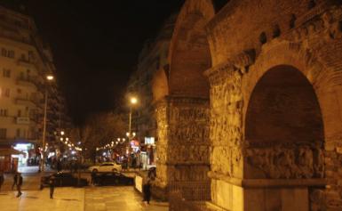 Θεσσαλονίκη: Επεισόδιο με έναν τραυματία από μαχαίρι στην Καμάρα