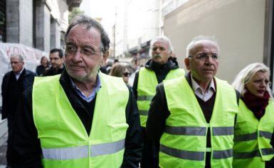 Με τα «κίτρινα γιλέκα» στο Παρίσι ο Λαφαζάνης