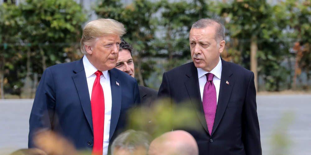 Τραμπ: Μίλησα με Ερντογάν για Συρία, ISIS και εμπόριο