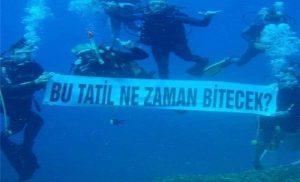 «Υποβρύχιες» απειλές Τούρκων στην θάλασσα της Κύπρου – Η απάντηση Ελληνοκύπριων δυτών