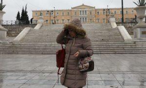 Κρύο και βροχές την Κυριακή -Νέα επιδείνωση καιρού από Δευτέρα