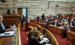 Αύριο στις 14:30 το μεσημέρι η ψηφοφορία στη Βουλή για τη Συμφωνία των Πρεσπών