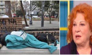 Χρυσούλα Διαβάτη: «Δεν αντέχω να βλέπω τους Έλληνες να κοιμούνται στα πεζοδρόμια! Τους ξένους τους βοηθάμε…» (βίντεο)