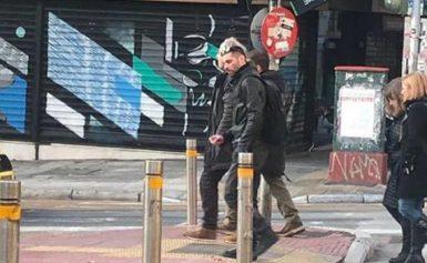 """Σάλος από την """"βόλτα"""" Κουφοντίνα στο κέντρο της Αθήνας"""