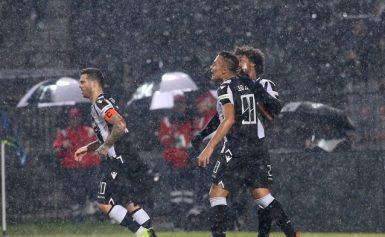 Κύπελλο ποδοσφαίρου, ΠΑΟΚ-Παναχαϊκή 5-0: Ασπρόμαυρη καταιγίδα πρόκρισης