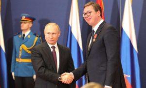"""""""Στρατηγική η συμφωνία Ρωσίας-Σερβίας για τον Turkish Stream"""" δηλώνει ο Σέρβος πρόεδρος"""