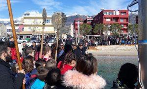 Χιμάρα: Εορτασμός των αγίων Θεοφανείων (φωτογραφίες + βίντεο)