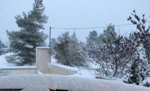 Έκτακτο δελτίο επιδείνωσης του καιρού Χιόνια ακόμα και στην Αττική