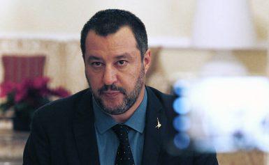 «Όχι» στη δίωξη Σαλβίνι από τα Πέντε Αστέρια για την υπόθεση στέρησης ελευθερίας μεταναστών