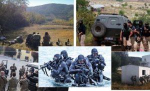 Η αμερικανική ομάδα 'SEAL' εκπαιδεύει τις αλβανικές ειδικές δυνάμεις