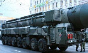 Συνεχίζεται ακάθεκτα η παραγωγή του βαρέως διηπειρωτικού βαλλιστικού πυραύλου της Ρωσίας