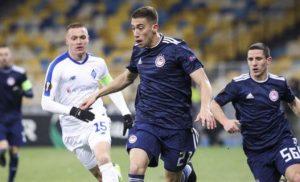Europa League: Αποκλείστηκε ο Ολυμπιακός, έχασε 1-0 στο Κίεβο από την Ντιναμό [βίντεο]