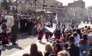 H Mάνη γιορτάζει την Ελευθερία της πατρίδας