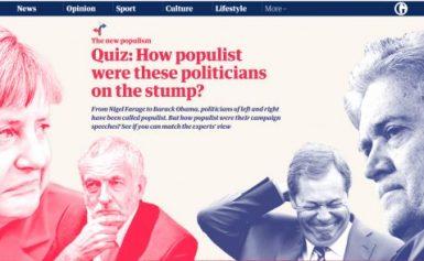Guardian: Πρωταθλητής στον λαϊκισμό ο Τσίπρας! (ΕΙΚΟΝΕΣ)