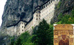 Ένας βράχος 360 τόνων απειλεί την Παναγία Σουμελά