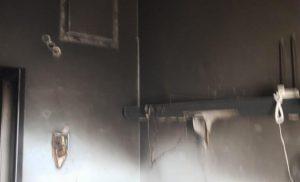 Εικόνες σοκ από τον θάλαμο που κάηκε ζωντανός ασθενής στο ΚΑΤ