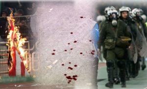 Παναθηναϊκός – Ολυμπιακός: Άλλη μια μέρα ξεφτίλας – Χημικά, φωτιές και διακοπή