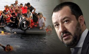 Νίκη Σαλβίνι: Σταματά η διακίνηση παράνομων μεταναστών από την Αφρική στην Ιταλία