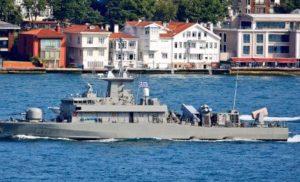 Μεγάλη κινητοποίηση των Τούρκων προκάλεσε Ελληνικό πλοίο που διέσχισε τον Βόσπορο ΒΙΝΤΕΟ
