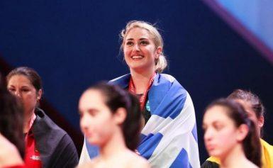 Πρωταθλήτρια Ευρώπης στην άρση βαρών η Κωνσταντινίδη – Κατέκτησε δύο χρυσά μετάλλια