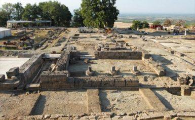 Ξεκινά η ανάδειξη του ανακτόρου Αρχαίας Πέλλας όπου γεννήθηκε και μεγάλωσε ο Μέγας Αλέξανδρος..