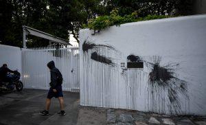Καταδρομική επίθεση του Ρουβίκωνα στο σπίτι του Αμερικανού πρέσβη, Τζέφρι Πάιατ