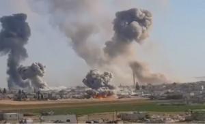 Σφοδροί βομβαρδισμοί στη Συρία: 27 άμαχοι νεκροί σε περιοχές τζιχαντιστών