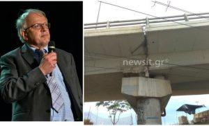 Κόντρα για τη «ρωγμή» στη γέφυρα του Φαληρικού Δέλτα – Τσελέντης: Αυτό φοβάμαι