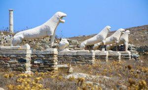 Η κλιματική αλλαγή «εξαφανίζει» τα μνημεία της Δήλου