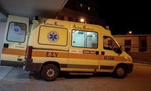Λάρισα: Ζευγάρι τσακώθηκε και κατέληξε στο νοσοκομείο