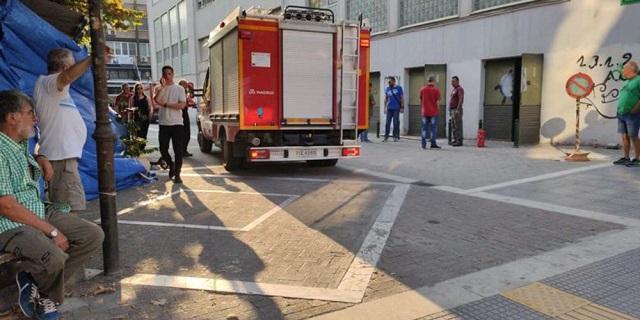 Ισχυρή έκρηξη στα δικαστήρια της Λάρισας – Χωρίς ρεύμα μέρος της πόλης