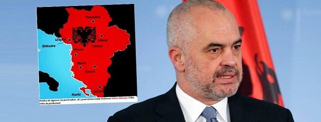 ΑΠΟΚΑΛΥΨΗ: Νέος χάρτης – σοκ με τη Μεγάλη Αλβανία