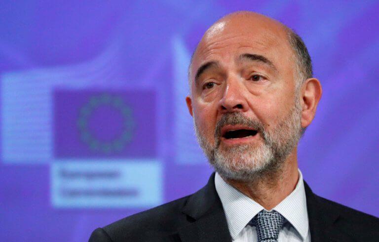 Ο Μοσκοβισί αποχαιρέτησε το Eurogroup με μια παραδοχή για την Ελλάδα