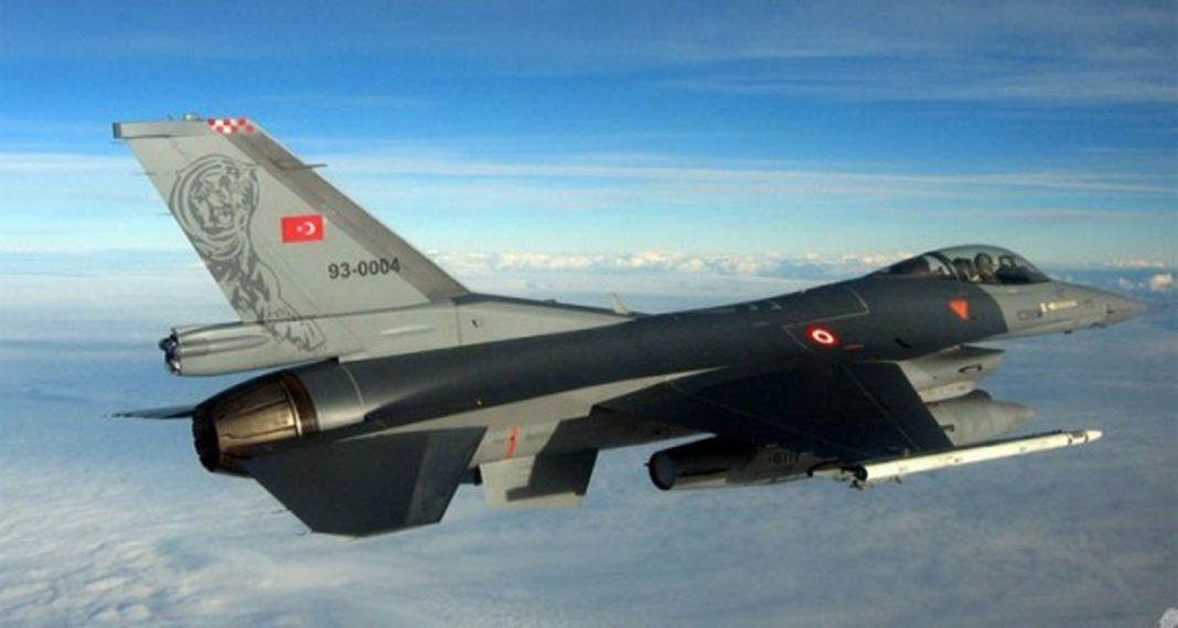 Αερομαχίες πάνω από τους Φούρνους τουρκικά F-16 με ελληνικά μαχητικά