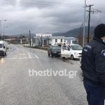 Κορωνοϊός: Μπλόκα της ΕΛΑΣ έξω από τη Μεσοποταμιά για την τήρηση της καραντίνας